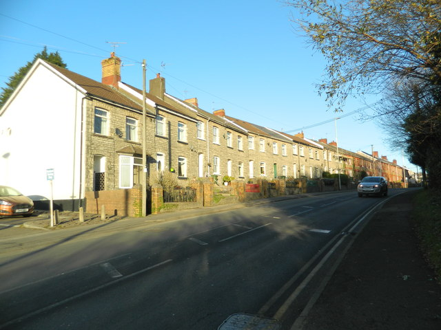 Houses, Lanelay Rd, Talbot Green