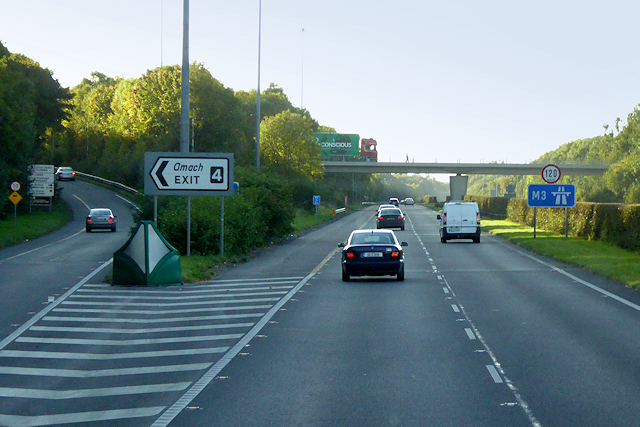 N3/M3, Exit at Junction 4 (Clonee)