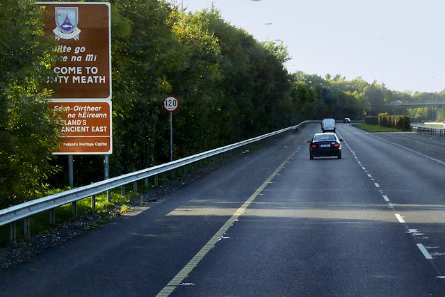M3 Motorway near Clonee