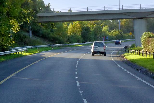 M3 Motorway, Bridge at Junction 4 (Clonee)