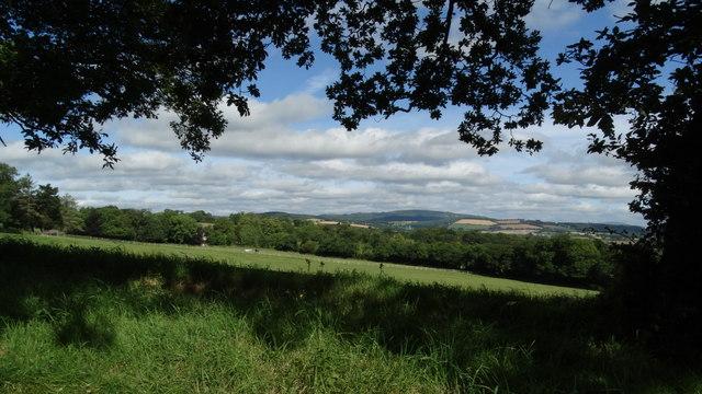 View NW from Ballymoney near Wicklow