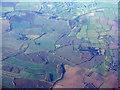 SP0350 : Fieldscape with golf course by M J Richardson