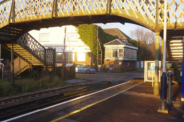 Petersfield Level Crossing
