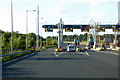 O0045 : M3 Toll Booths near Black Bull by David Dixon