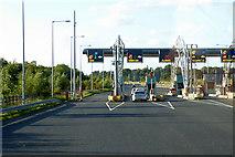 O0045 : M3 Toll Booths near Black Bull by David Dixon