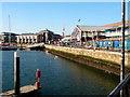 SU4210 : Dockside at Ocean Village, Southampton in 2002 by John Lucas