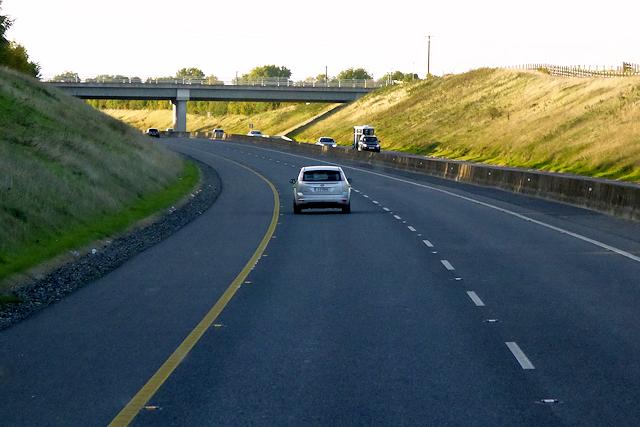 Bridge over the northbound M3 near Derrockstown