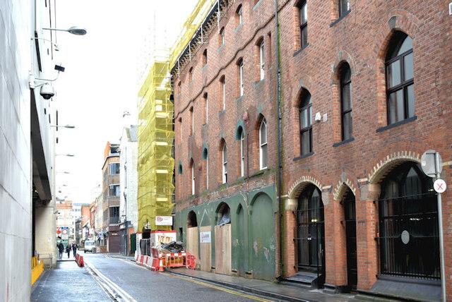 Nos 91-97 Victoria Street, Belfast (December 2017)