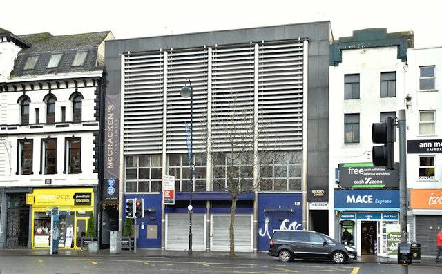 Former First Trust Bank, High Street, Belfast (December 2017)