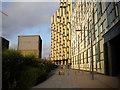 TQ3979 : Pier Walk, North Greenwich by Richard Vince