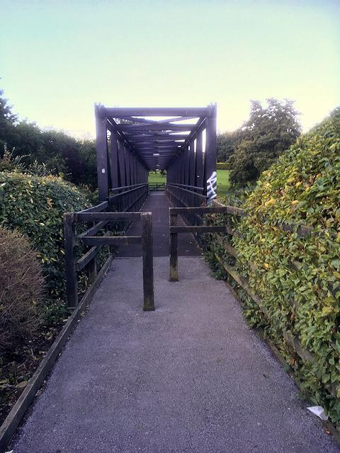 Footbridge over the River Boyne at Trim
