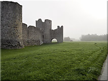 N8056 : Trim Castle Walls by David Dixon