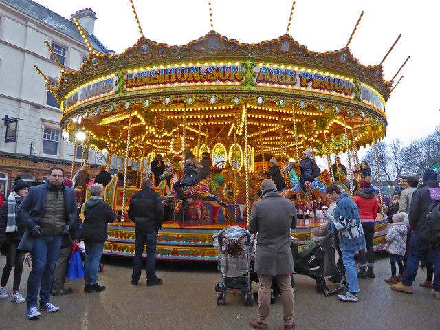 Worcester Victorian Market - gallopers
