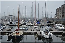 SX4854 : Sutton Harbour Marina by N Chadwick