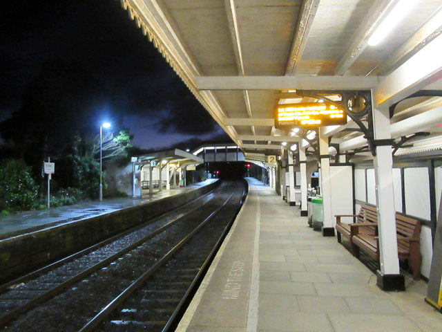 St Erth Station at Night