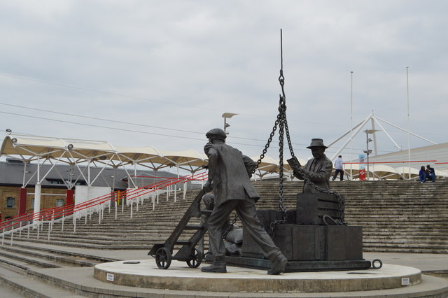 Landed, Royal Victoria Dock