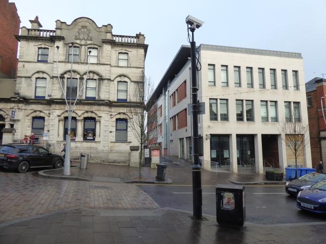 Buildings along High Street, Omagh