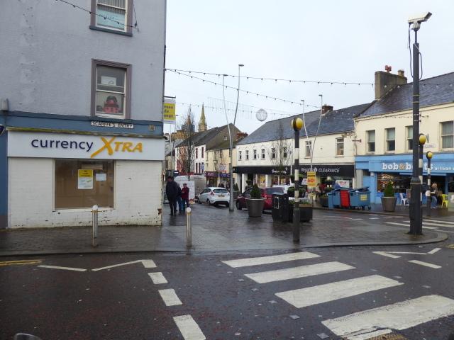 Pedestrian crossing,Omagh