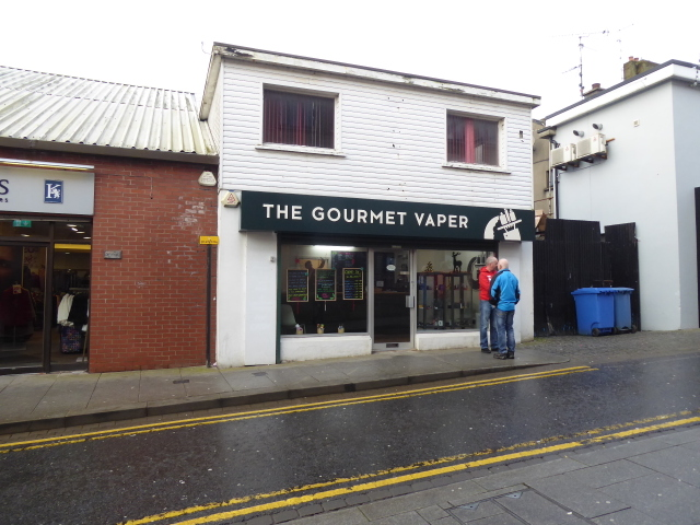 The Gourmet Vaper, Scarffes Entry, Omagh
