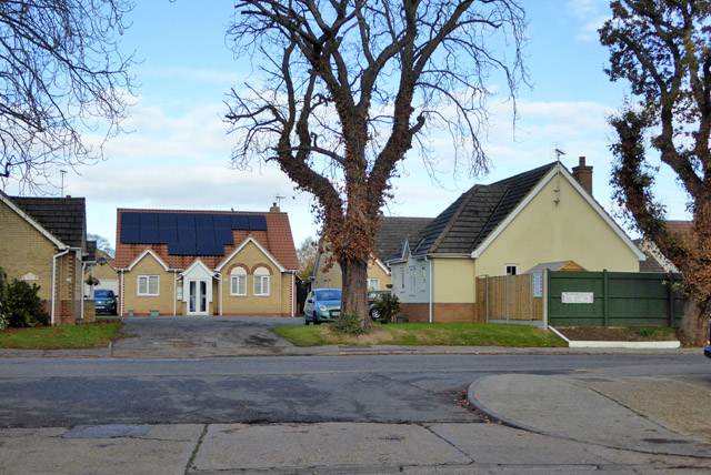 Houses off Grove Road, Tiptree
