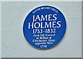 J3474 : James Holmes plaque, Belfast (December 2017) by Albert Bridge