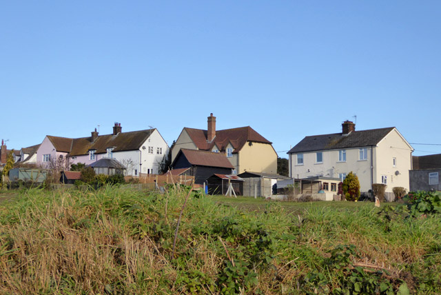 Houses on Layer Breton Hill