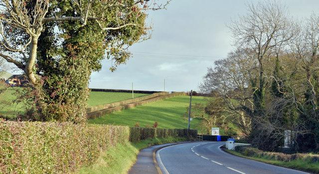 The Ballyrobert Road, Ballygrot near Bangor (December 2017)