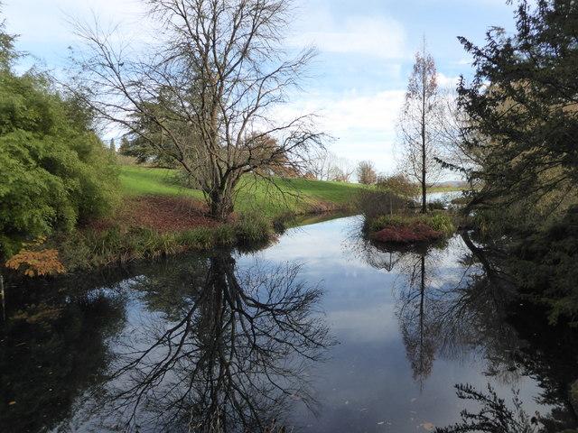 Lake at Batsford Park