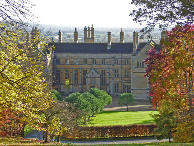 Batsford House from the Arboretum