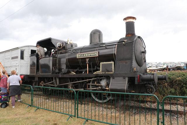 Welland Steam Rally - historic steam locomotive