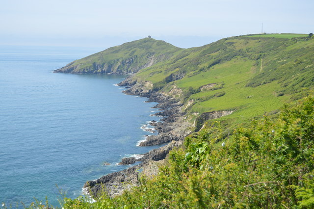 Coastline at Homebarton Hill