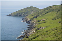 SX4248 : Coastline to Rames Head by N Chadwick