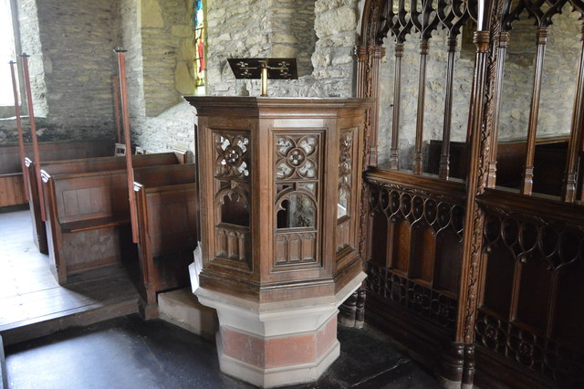 Church of St Germanus - pulpit