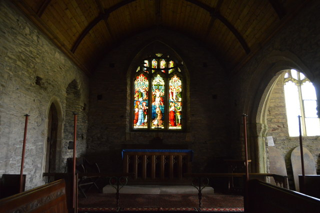 Church of St Germanus - stained glass window