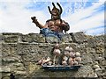 NZ3376 : Neptune & Shell Boat, The King's Arms, Seaton Sluice by Andrew Curtis