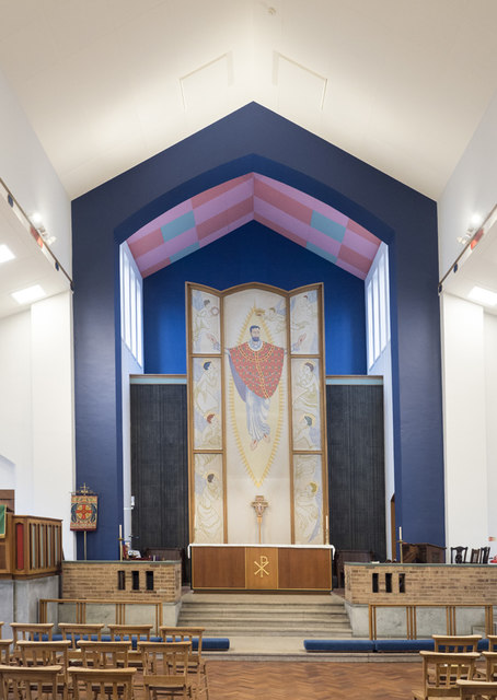 St Barnabas, Grove Road, Bethnal Green - Chancel