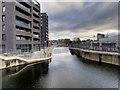 SJ8598 : Rochdale Canal, New Islington Branch by David Dixon