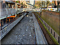 SJ8397 : Rochdale Canal Restoration Work at Lock 91 by David Dixon
