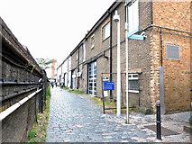 TQ2681 : Lane off South Wharf Road by Thomas Nugent