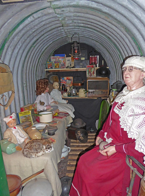 Bygones Museum, Babbacombe - air raid shelter