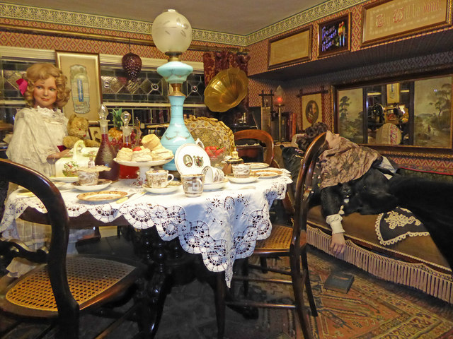 Bygones Museum, Babbacombe - Victorian high tea