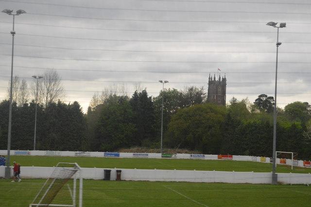 Football pitch, Cullompton