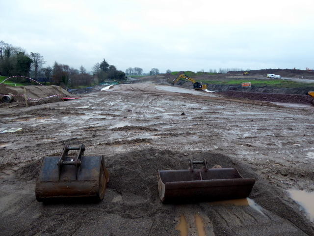 Construction site, New Strathroy link Road (2)
