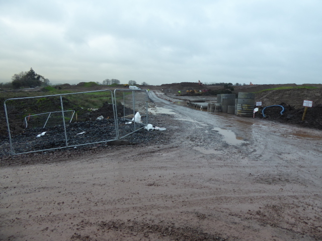 Construction site, New Strathroy link Road (4)
