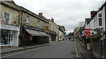 SP0228 : Winchcombe - View NE along High St by Colin Park