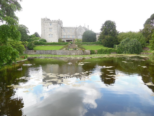 Sizergh Castle from the Lake