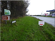 H4277 : Signs along Derry Road by Kenneth  Allen