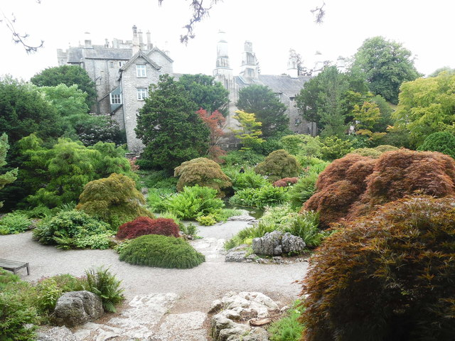 The Rock Garden at Sizergh Castle