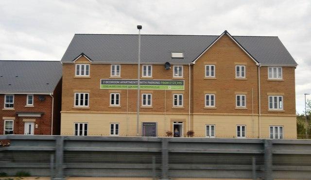 New housing, Norton Fitzwarren