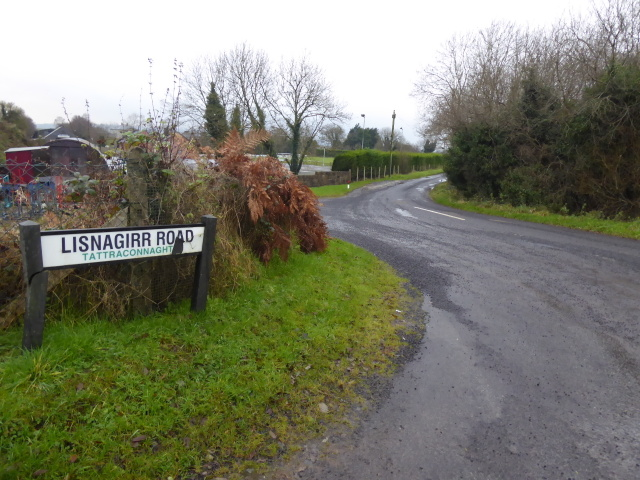 Lisnagirr Road, Tattraconnaghty